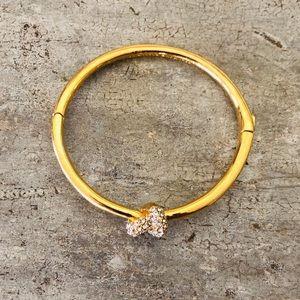 ♥️ Kate Spade ♥️ Gold Diamond Bangle Bracelet